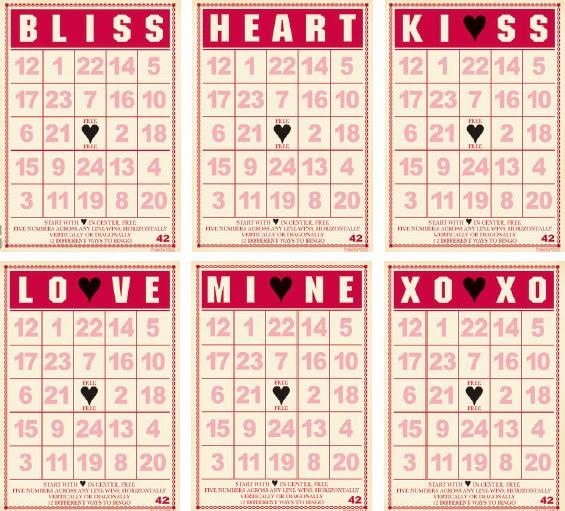 Valentines Bingo Printable 5