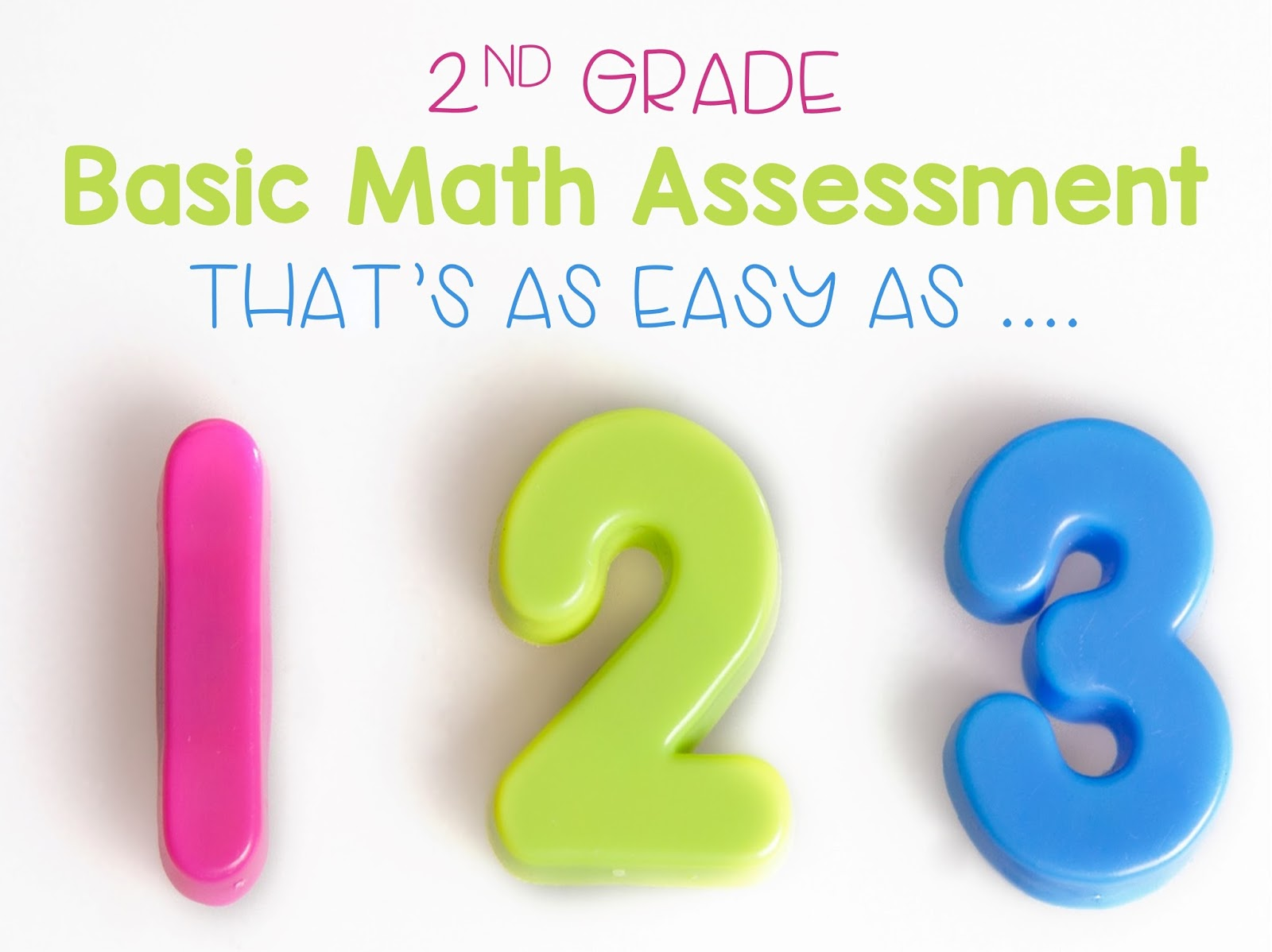 2nd Grade Snickerdoodles: Basic Math Assessment {Free & Editable}