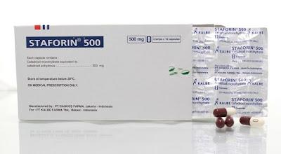 Staforin - Manfaat, Dosis, Efek Samping dan Harga