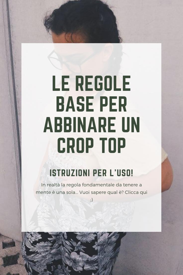 Le Regole Base Per Indossare Un Crop Top