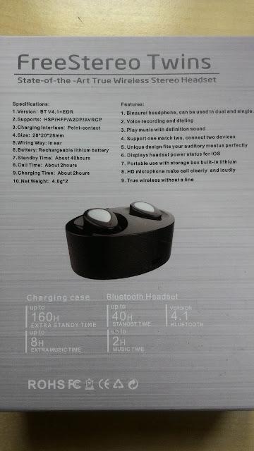Auricolari Fodlon mini Bluetooth senza fili 4.1