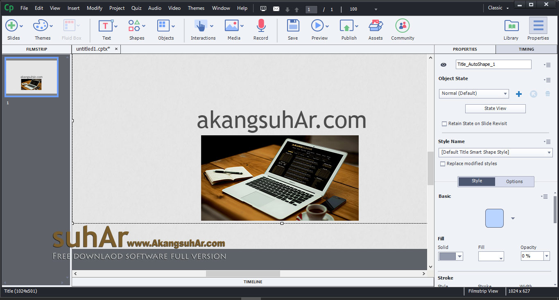 Gratis Download Adobe Captivate 2017 Terbaru, Adobe Captivate 2017 Full Crack