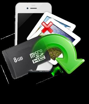 Comment récupérer des données effacées de la carte mémoire de votre mobile?