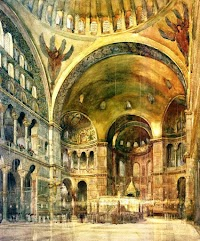The Historical Christian Arrangement of Hagia Sophia