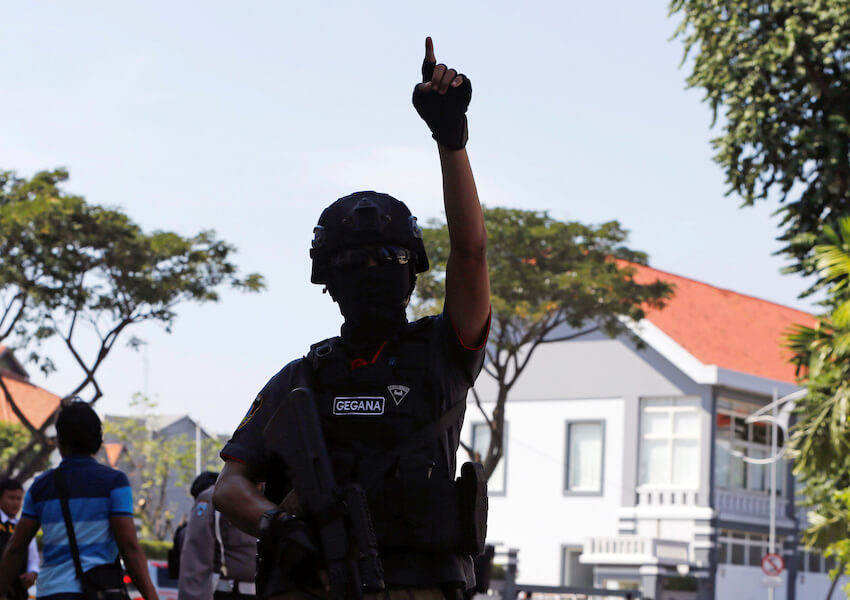 Terduga Teroris Akan Ledakan Bom Saat Hasil Pemilu Di Tetapkan Di Depan Kantor KPU