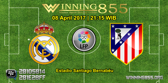 Prediksi Skor Real Madrid vs Atletico Madrid 08 April 2017