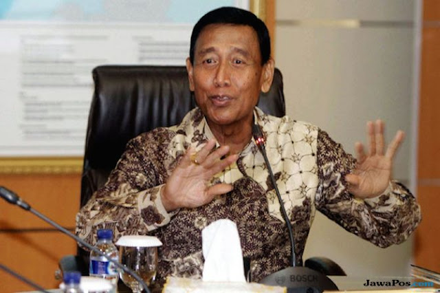 Prajurit TNI Bakar Markas Polsek Ciracas? Ini Jawaban Wiranto