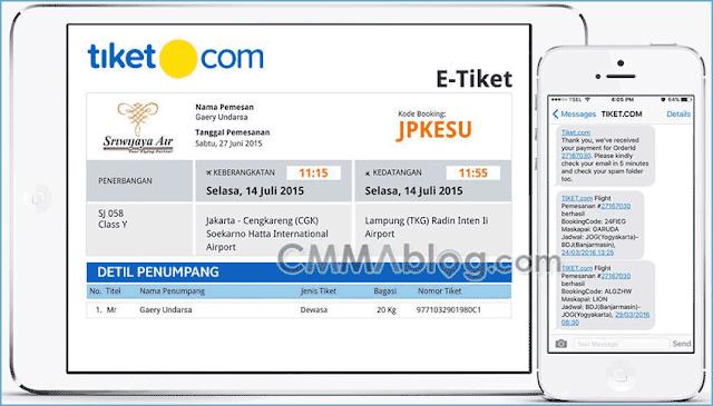 Panduan Cara Pesan Tiket Pesawat Online di Web Tiket.com