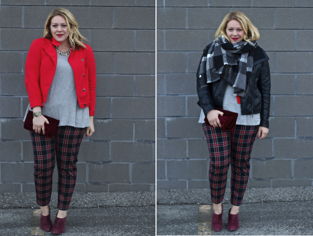 Layering for holiday looks from day to night