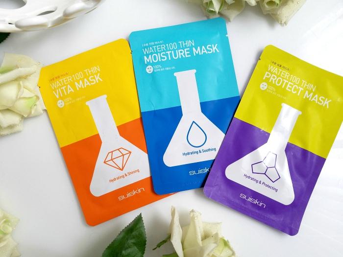 Suiskin Water 100 Tuchmasken / Sheet Masken Hydrating, Shining, Soothing, Protecting