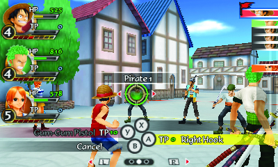 One Piece: Romance Dawn screenshot 3