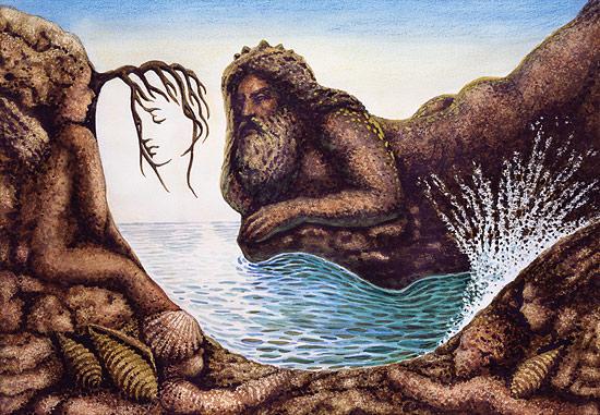 Sentido Saudade da Sereia - Octavio Ocampo e Suas Pinturas Cheias de Ilusões