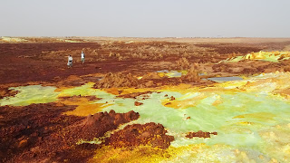 The Danakil Depression is out of this plane