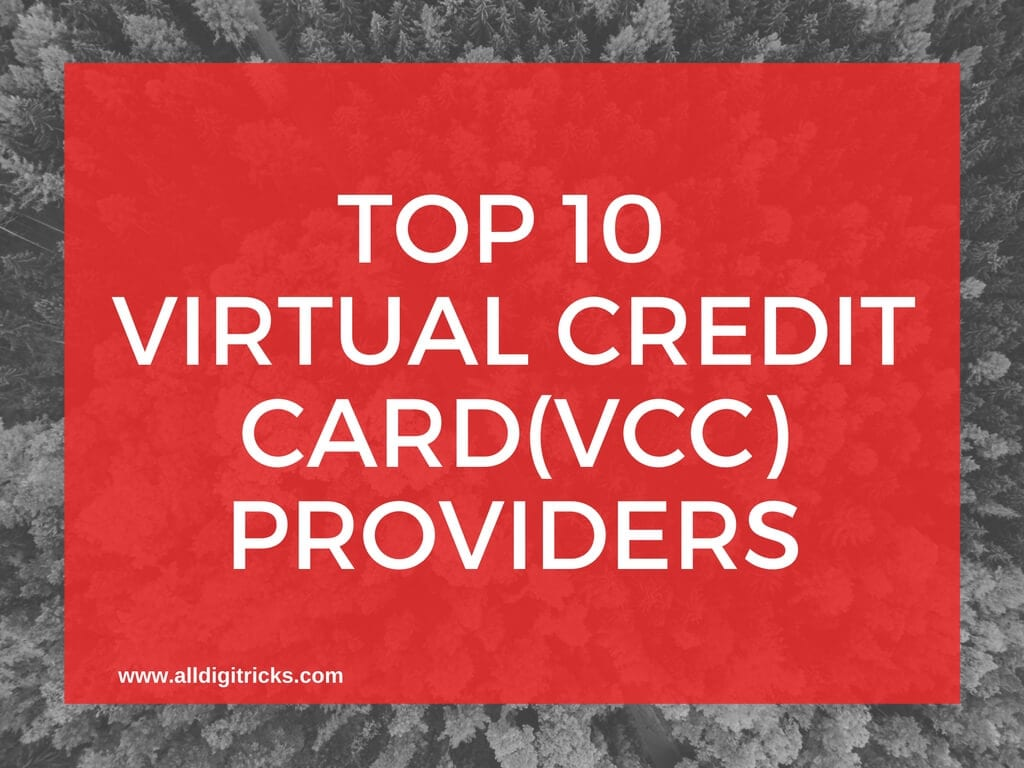 Entropay Vcc Alternative You Can Also Use These Virtual Credit Cards Top 10  ( Vcc ) How To Get Free