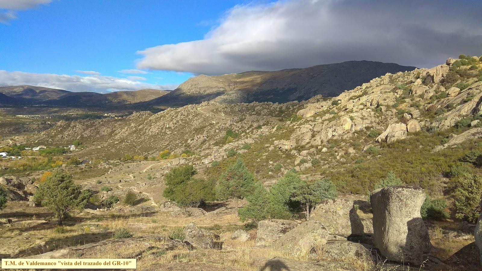 Sierra De Madrid Y Mas La Cabrera Gr 10 Valdemanco Sierra De La