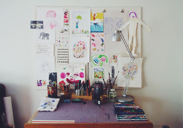 penelope dullaghan, artists studios, work space