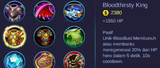 Build Item Terbaik Hero Lolita Mobile Legends