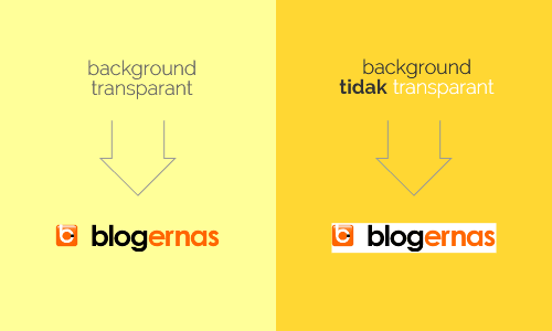 Cara Buat Background Logo Transparant dg Photoshop