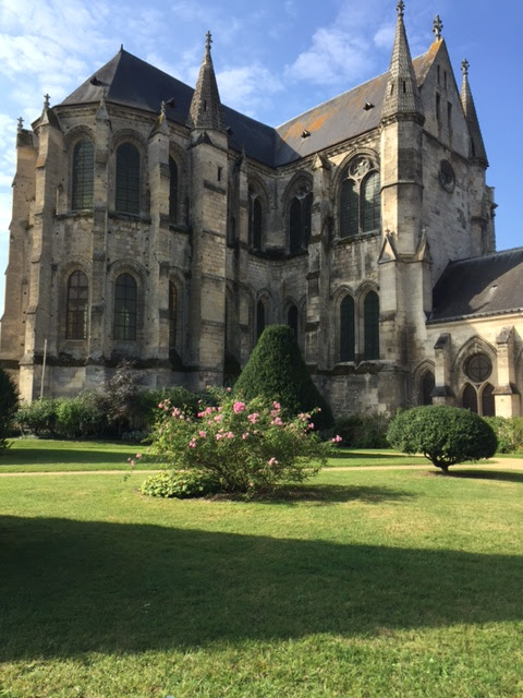 Soissons ancient building
