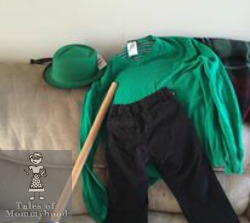 Tales Of Mommyhood Diy Halloween Costume The Riddler