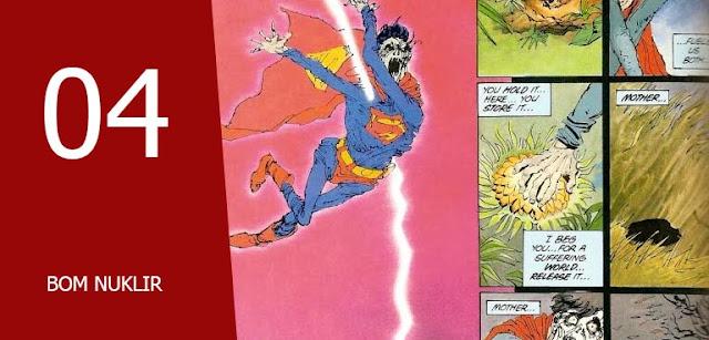 kekalahan superman komik