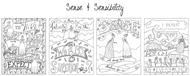 jane austen coloring book books storyseamstress