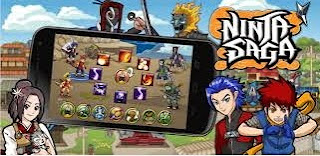 Download Ninja Saga MOD Apk Unlimited Coins