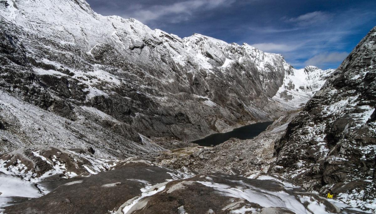 Gunung tertinggi di dunia Puncak Ngga Pilimsit