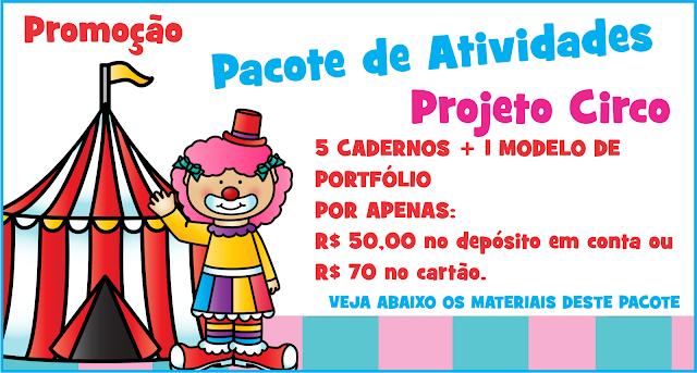 Pacote Promocional Projeto Circo