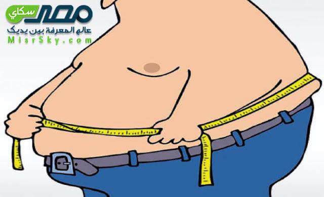 اضرار الدهون على الشخص البدين وهل هو دائم المرض ؟