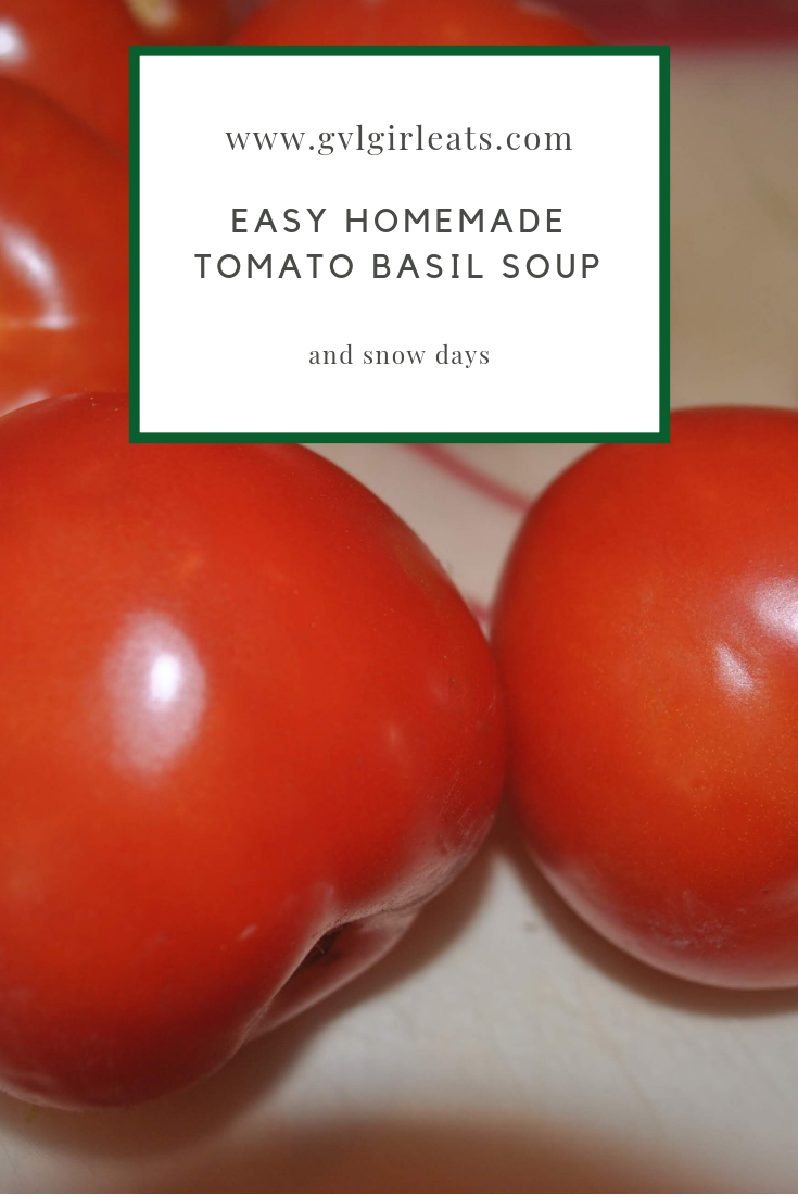 Easy Homemade Tomato Basil Soup