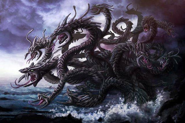 """Mitos y Leyendas Dragones """"La Hidra de Lerna"""""""