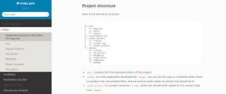 Scrapy guru project structure