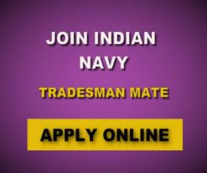 Join Indian Navy Login for 554 Tradesman Mate