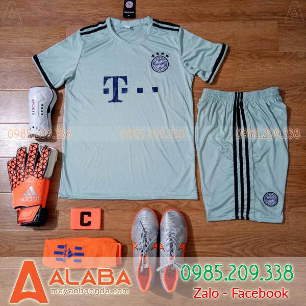 Áo CLB Bayern 2018 Màu Xanh Rêu