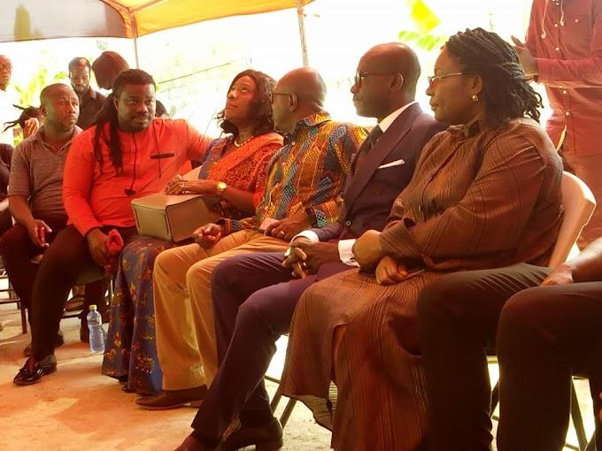 Photos: Tourism Ministry, MUSIGA, GHAMRO pay condolences to Ebony's family