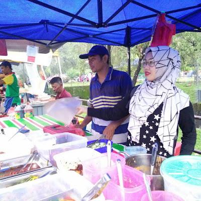 Bazar Ramadhan Taman Bukit Indah 2017