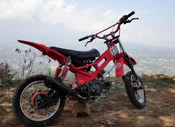 Yamaha Vega R Modif Trail Keren