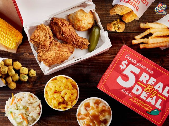 Church S Chicken Offers 5 Real Big Deal Brand Eating