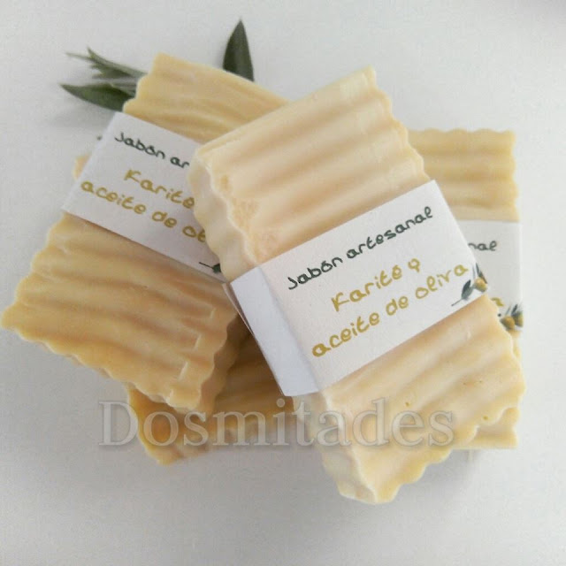 Jabón-aceite-oliva-karité-Dosmitades