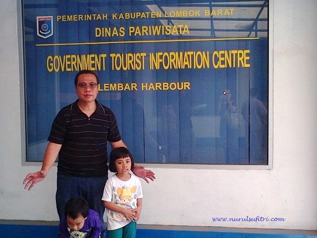tempat wisata honeymoon terindah di lombok nurul sufitri social media mom blogger writer traveloka traveling pelabuhan lembar lombok