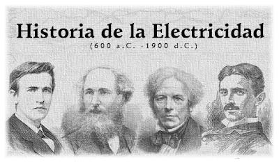 Historia de la electricidad. Electricity History. Tesla, Maxwell, Faraday, Edison