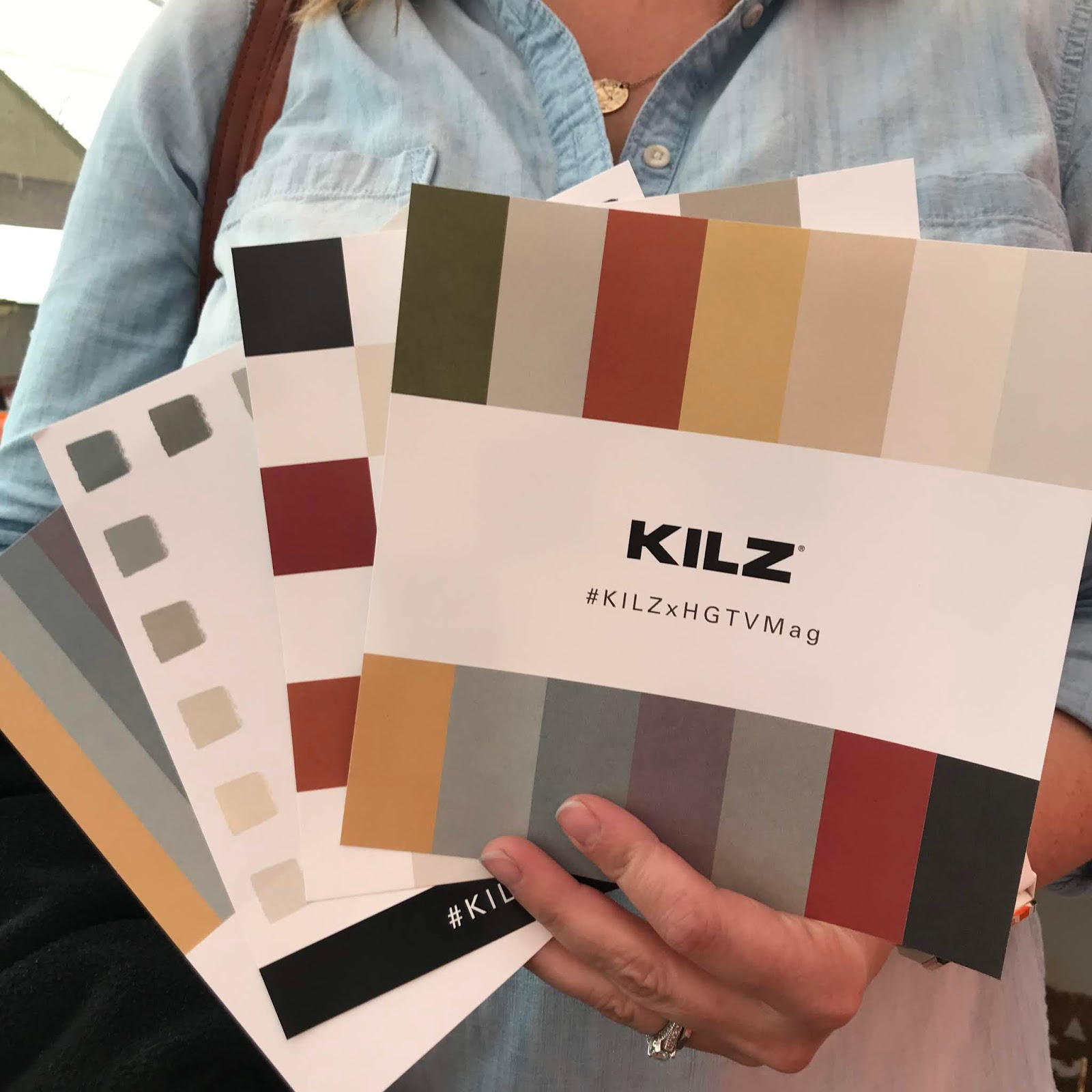 Joanna Gaines paint line from Kilz