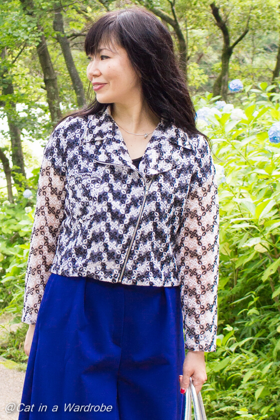 Mona Biker Jacket Sewing Pattern