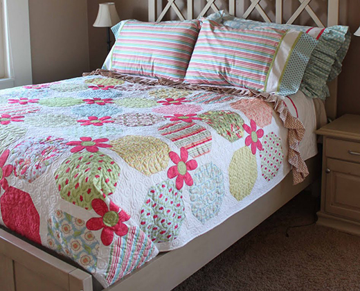 Verna's Layer Cake Quilt Free Tutorial