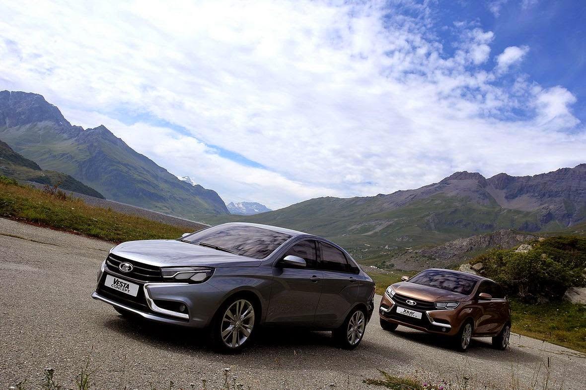 Τα νέα LADA Vesta και LADA XRAY στο Σαλόνι Αυτοκινήτου της Μόσχας
