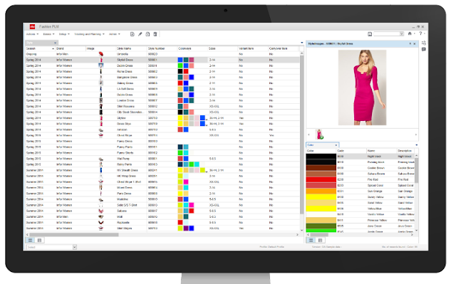 Fashion PLM software