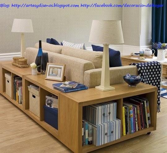 Muebles Funcionales para Espacios Pequeños by artesydisenos.blogspot,com