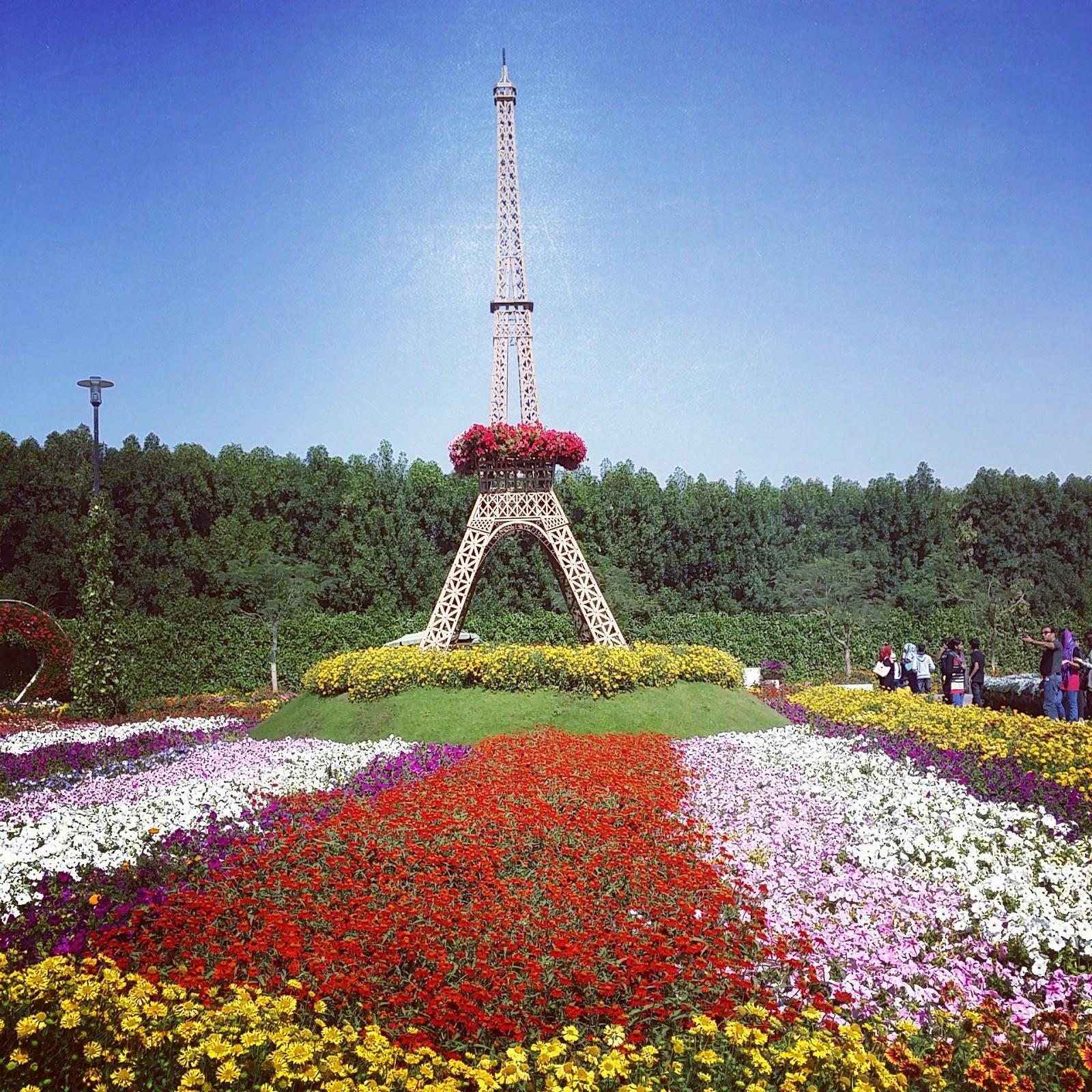 kristel travels dubai miracle garden global village