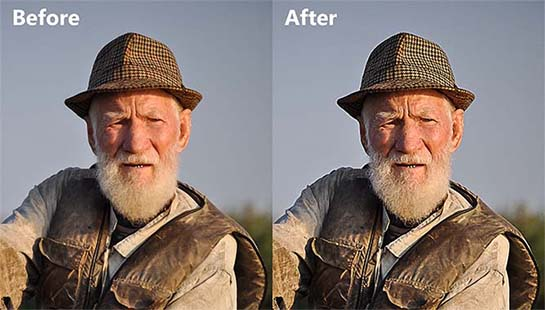 Before-and-after-sharpening-image-in-Photoshop